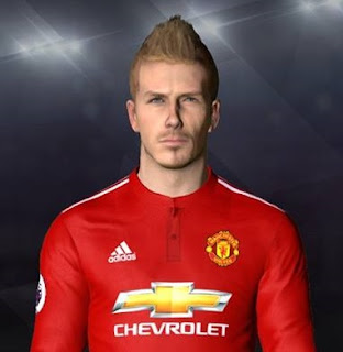 PES 2017 Faces David Beckham by Facemaker Ahmed El Shenawy