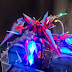 MG 1/100 Aegis Gundam with LED light and Diorama