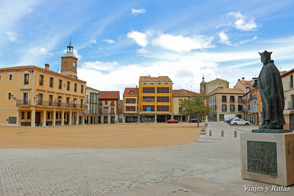 Plaza Mayor de Almazán