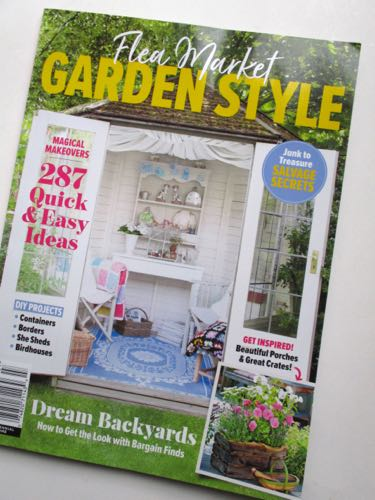 I Absolutely Love The New Gardening Magazines That Appear Each Spring,  Especially The Ones That Promote Using Flea Market Finds As Garden Decor.