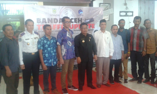 10 Stasiun Radio Ikut Launching Banda Aceh Traffic Update