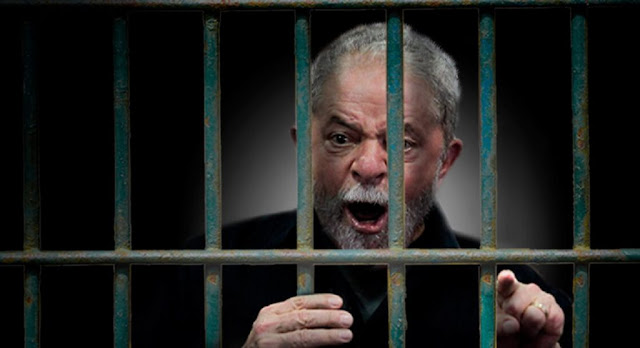 Resultado de imagem para LULA preso