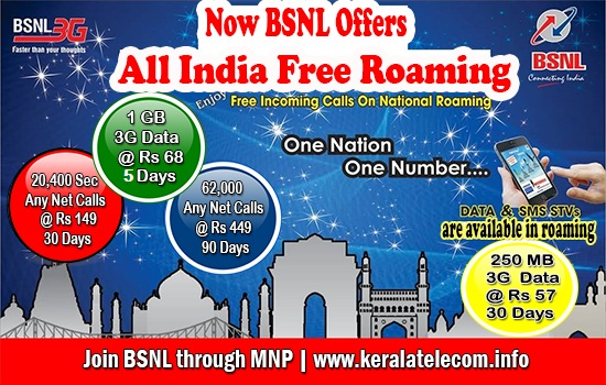More than 85 percent increase in gross SIM sales of BSNL in July 2015, Free All India Roaming and 3G Data Offers getting overwhelming response from customers across India