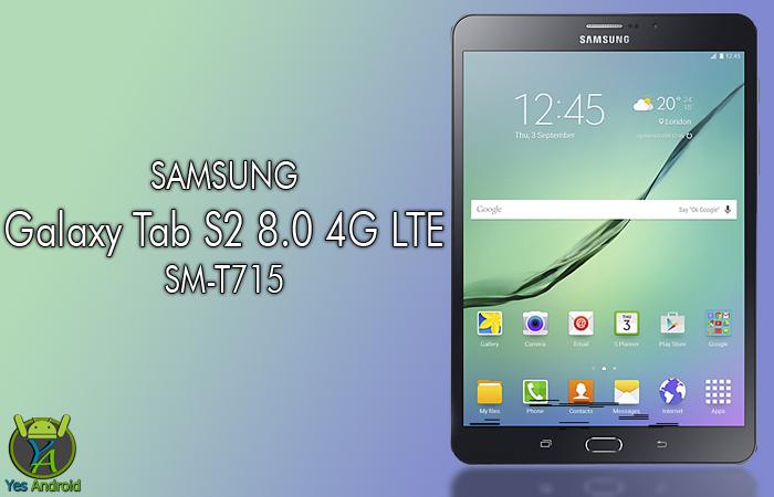 T715XXU2BPK1 | Galaxy Tab S2 8.0 4G SM-T715