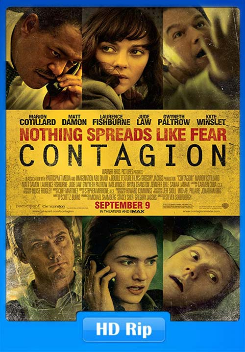 Contagion 2011 Dual Audio Hindi BRRip 720p x264 | 480p 300MB | 100MB HEVC
