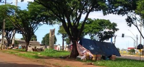 Índios de Manoel Ribas desagradam moradores em Campo Mourão
