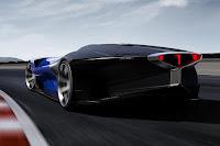 Peugeot L500 R HYbrid Concept 2016 Rear Side