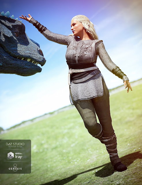 Dragon Tamer Outfit Textures
