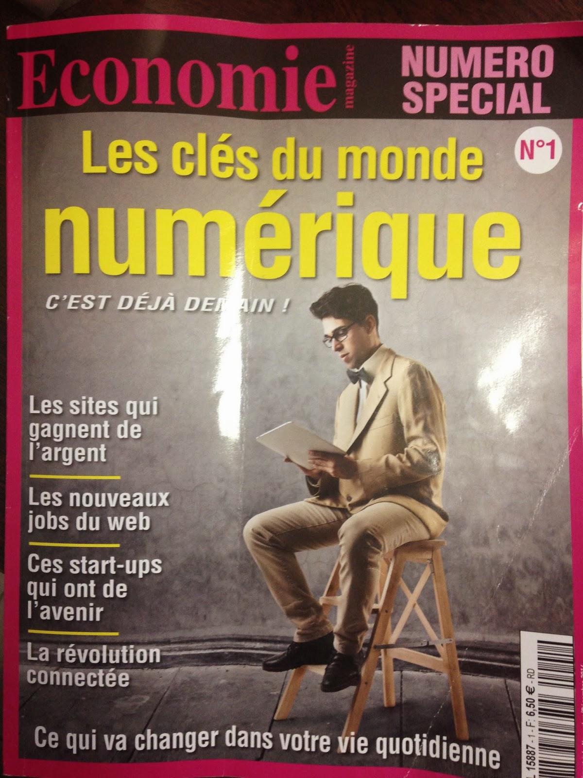 Couverture de Économie magazine