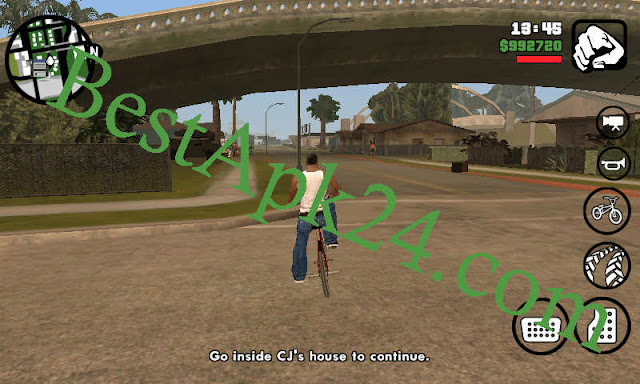 GTA San Andreas Lite v8 APK+ DATA (All GPU) (250MB) 6
