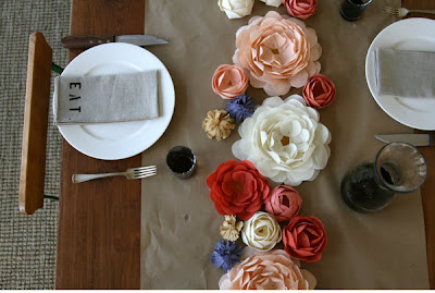 rustic-tablescape-paper-fabric-flower-ce
