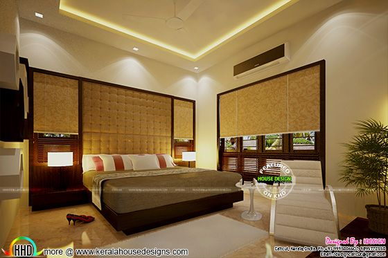 New bedroom interior concept
