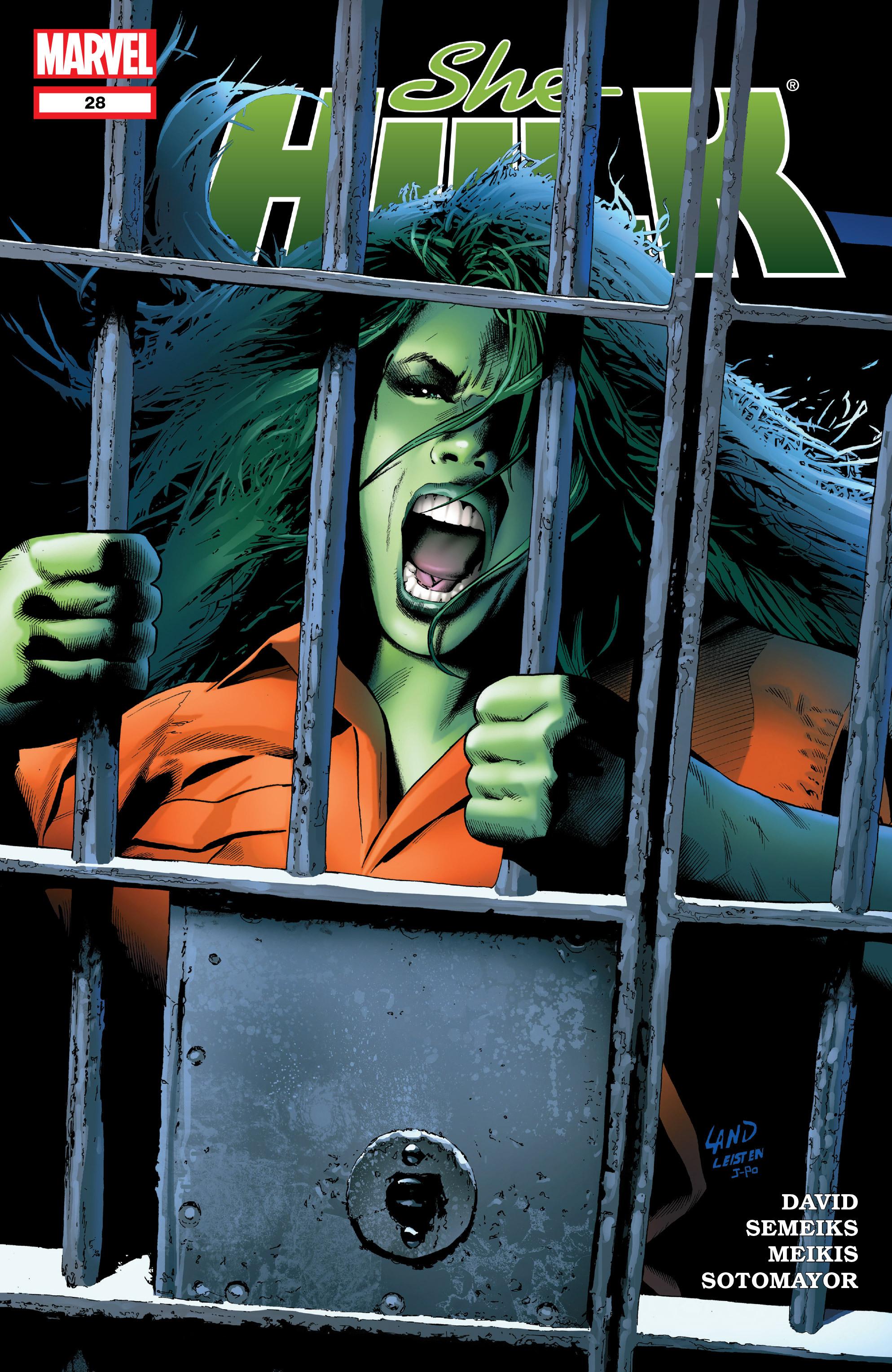 Read online She-Hulk (2005) comic -  Issue #28 - 1