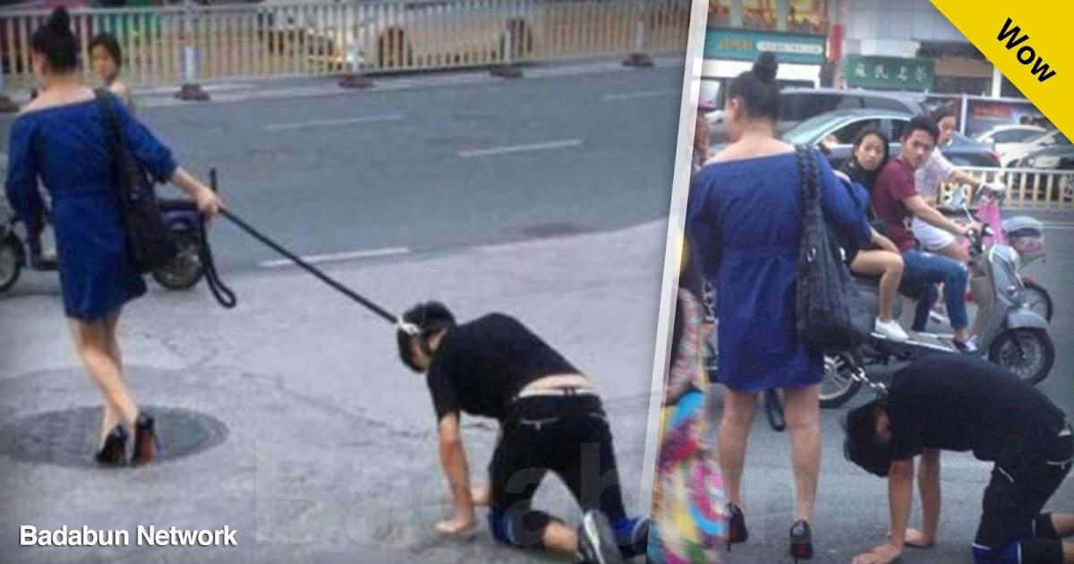 pasear novio perro mujer loca