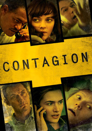 Poster of Contagion 2011 BRRip 1080p Dual Audio Hindi Dubbed Movie Download