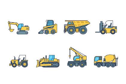 Jenis Alat Berat Yang Sering Digunakan di Industri Kontruksi
