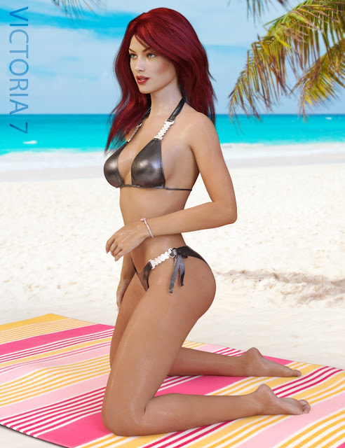 Luxury Bikini for Genesis 3 Female