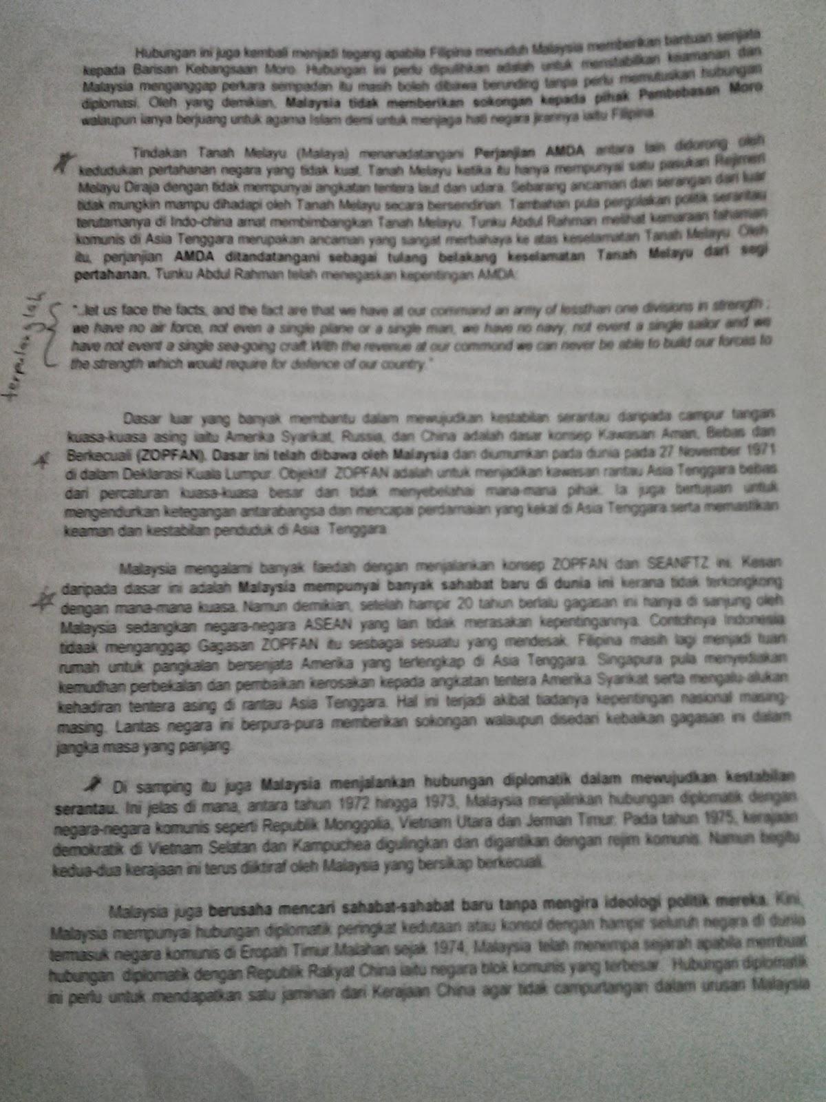 Contoh Jawapan Sejarah Kertas 3 Tingkatan 4 Bab 2 - Mosik ...