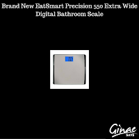 Brand New EatSmart Precision 550 Extra Wide Digital Bathroom Scale