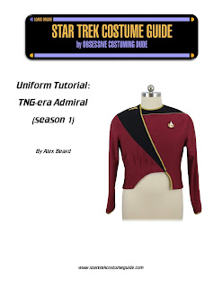 TNG admiral (season 1) sewing tutorial