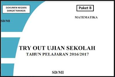 Soal Try Out Ujian Sekolah UN SD/MI 2017