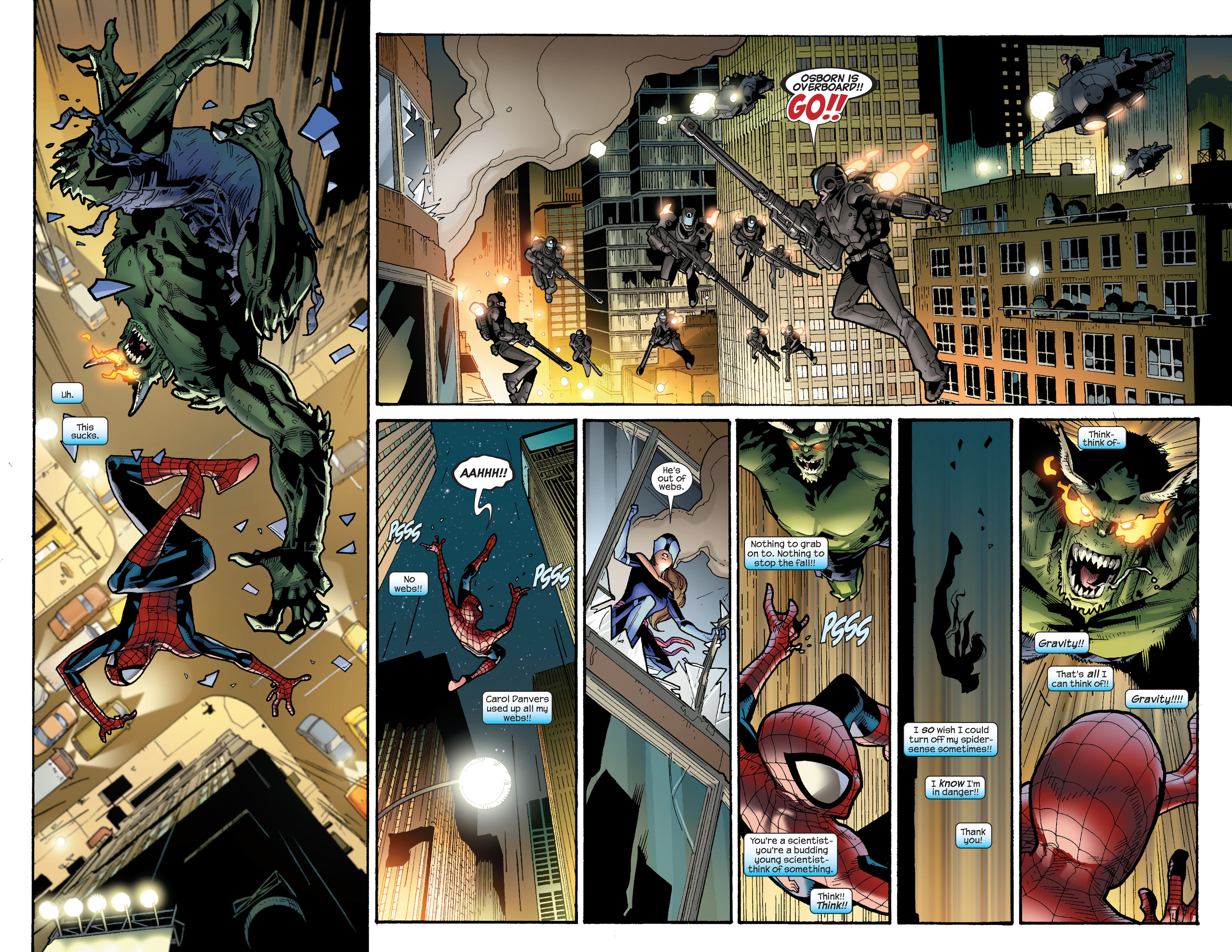 Read online Ultimate Spider-Man (2000) comic -  Issue #116 - 3