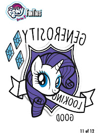 MLP Tattoo Card 11 Series 5 Trading Card