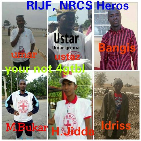 Six Nigerian Red Cross Workers Killed In Rann Accidental Air Strike Borno (Photos)