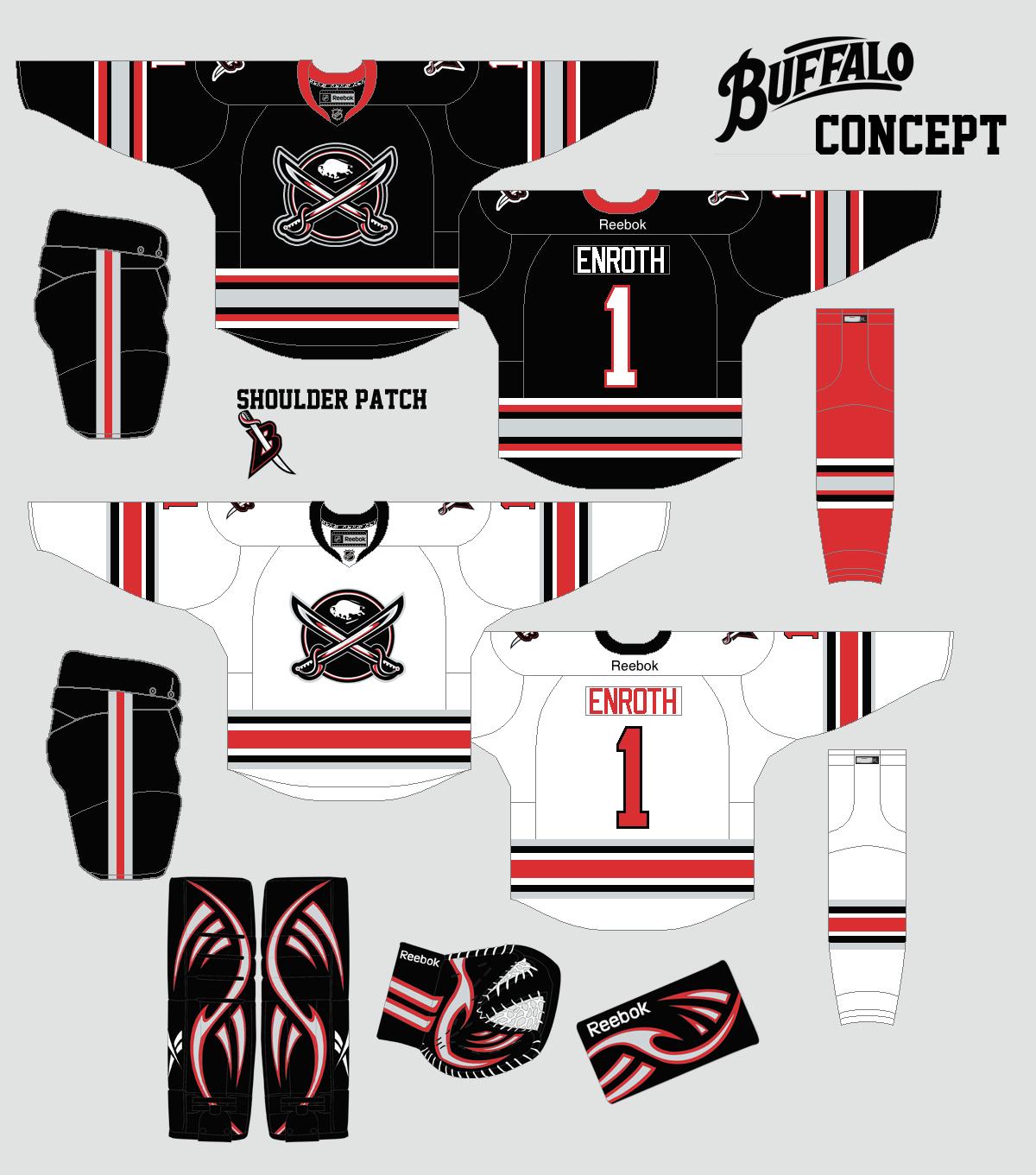 cheaper c96e9 c40ea The Concept Corner: NHL: Bringing Back the Black and Red