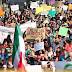 Protestas en 28 estados contra el 'gasolinazo