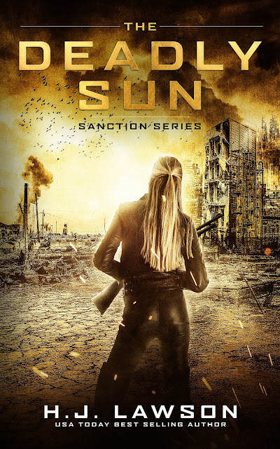 The Deadly Sun by H.J. Lawson – Cover Reveal @hjlawson1 @yaboundtourspr