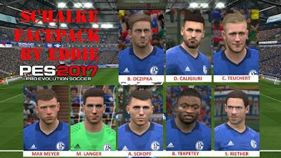 PES 2017 Facepack Schalke 04 by Eddie Facemakers