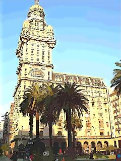 Palacio Salvo, O Primeiro Arranha-céu - Montevidéu, Uruguai
