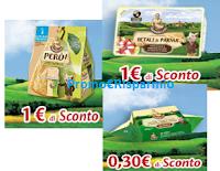 Logo Parmareggio Burro, Snack Però e Petali di Parma: stampa i coupon