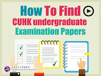 CUHK Examination Papers Database
