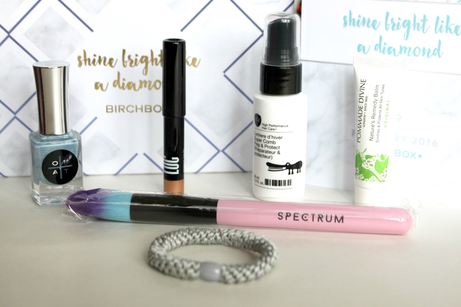 Unboxed February Birchbox UK Reveal Products