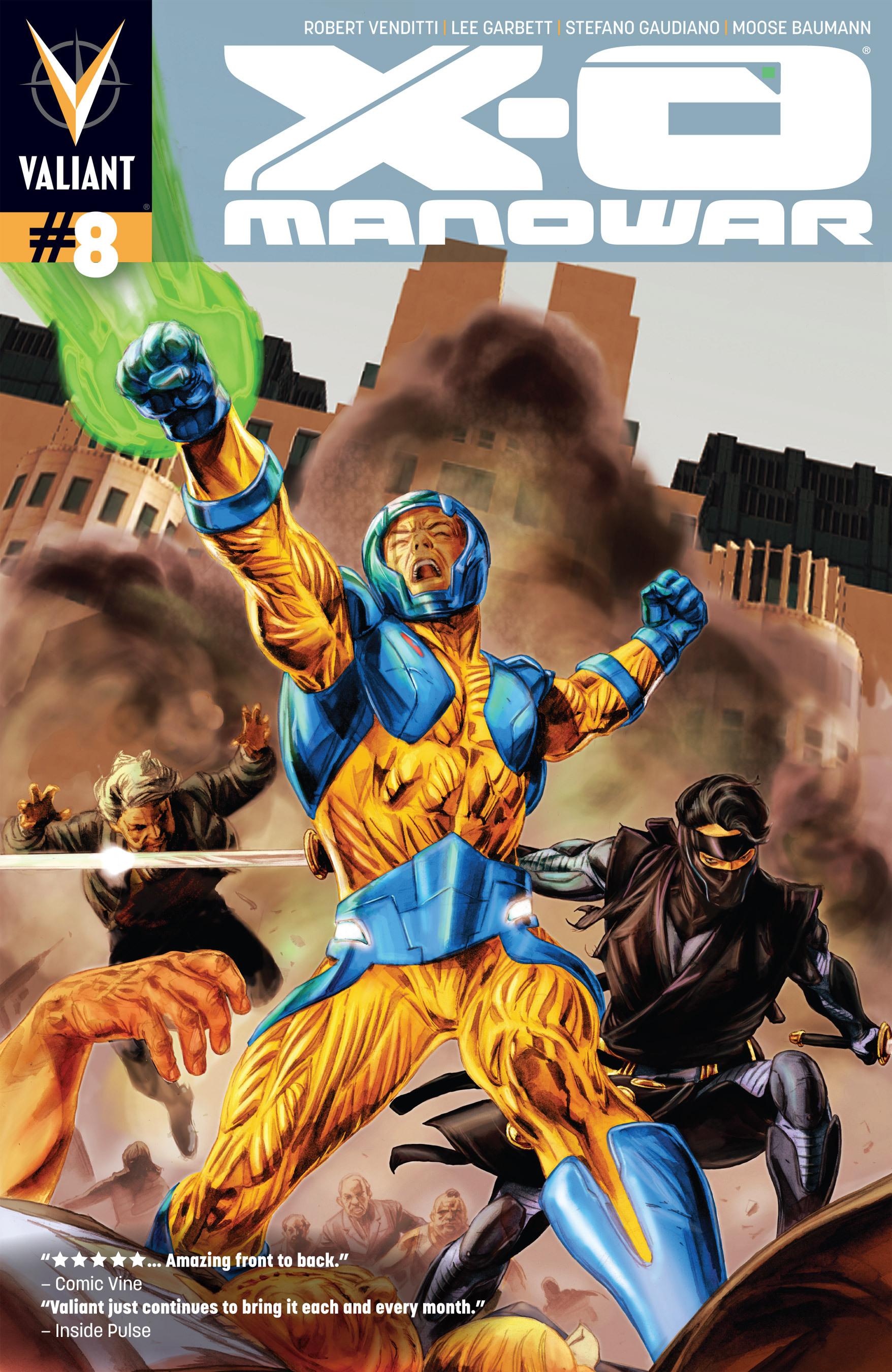 X-O Manowar (2012) 8 Page 1