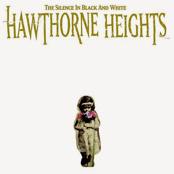 Hawthorne Heights - The Silence In Black and White (Re-Issue) Cover