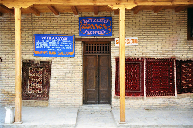 Ouzbékistan, Boukhara, Hammam Bozori Kord, © L. Gigout, 2010