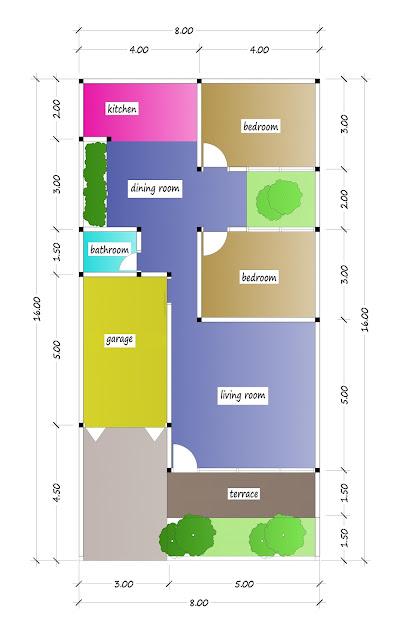 floor plan of beautiful house plan 24