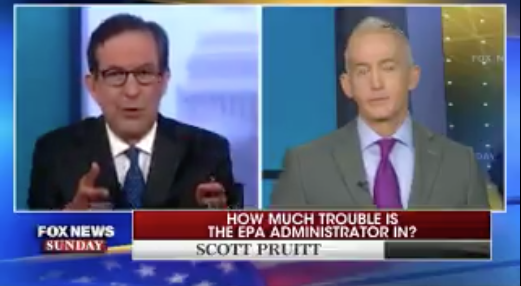 Gowdy mocks Pruitt's travel spending: Maybe he should become 'a monk' instead | TheHill