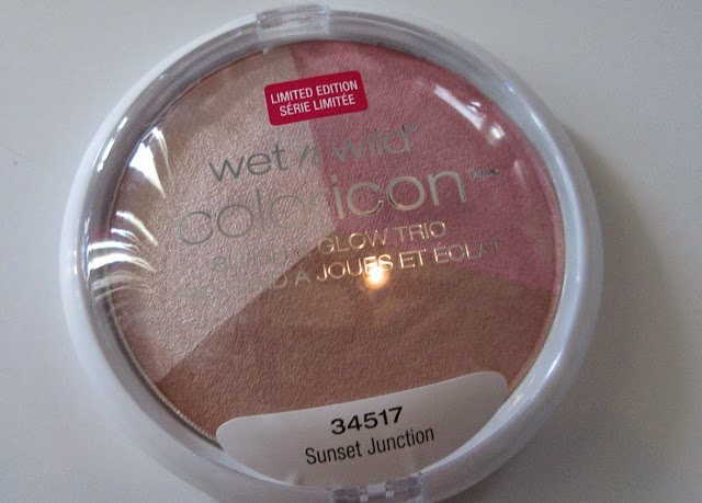 Wet n Wild Sunset Junction Color Icon Blush&Glow Trio