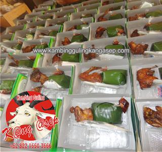 Nasi Box di Dago Bandung