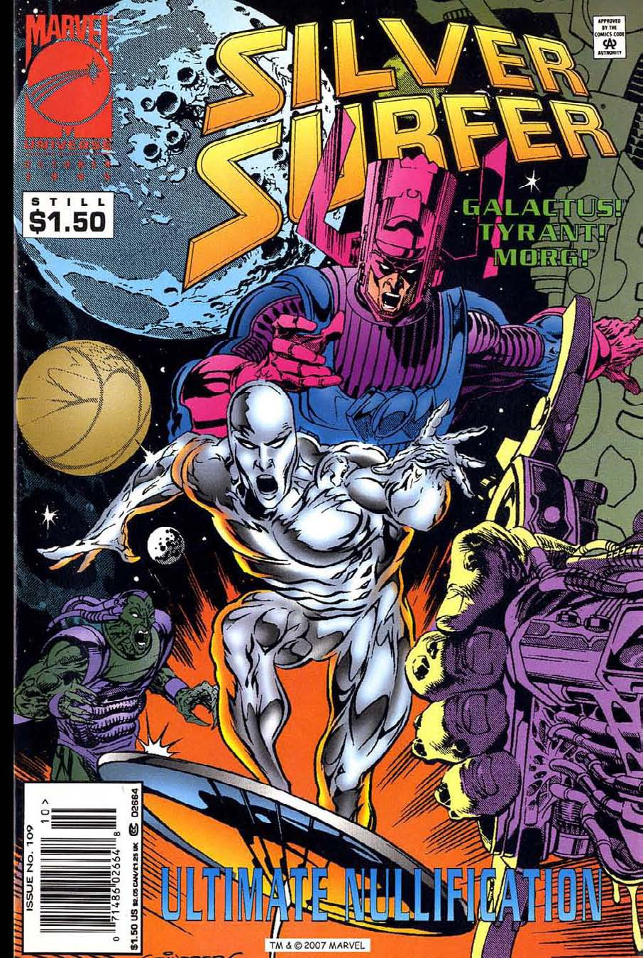Silver Surfer (1987) Issue #109 #117 - English 1