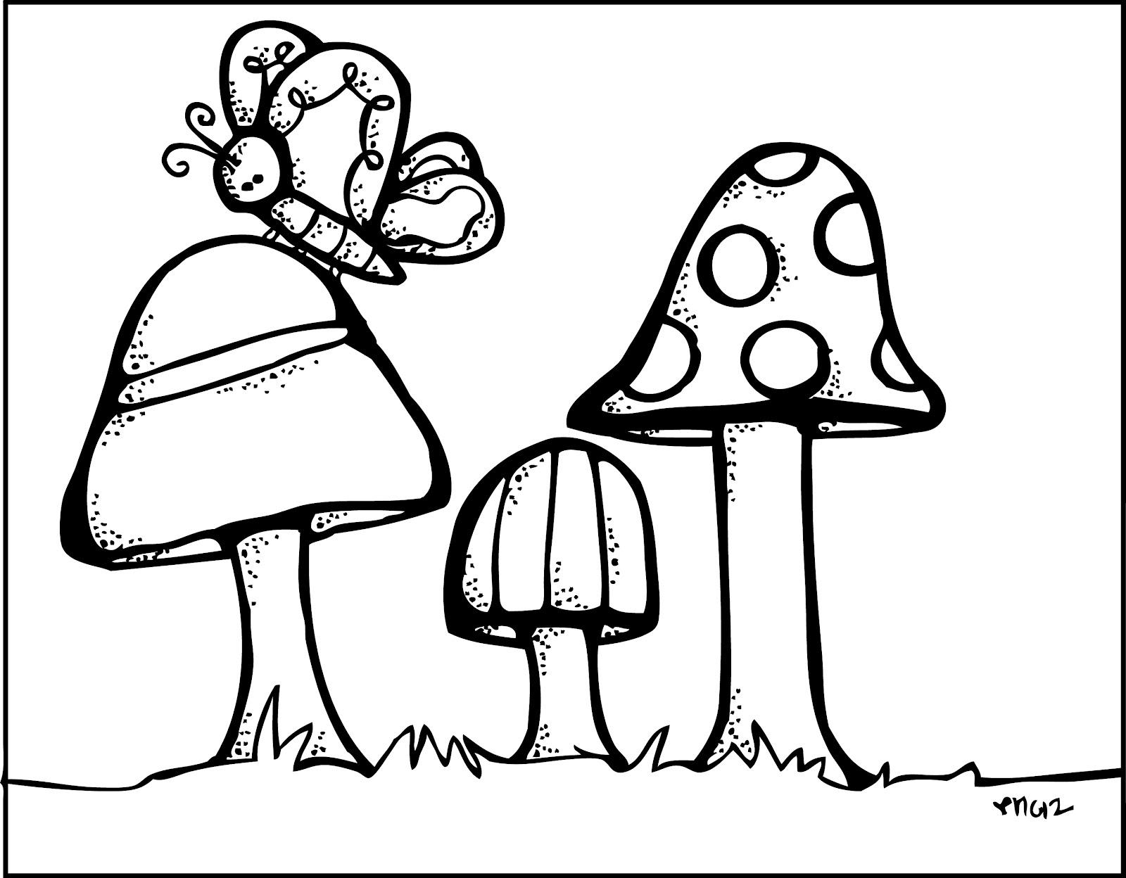 melonheadz mushroom scene rh melonheadzillustrating blogspot com melonheadz school clipart black and white melonheadz teacher clipart black and white