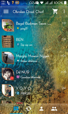 Droid Chat! v4.7.12 Transparent Theme Based BBM v2.9.0.45