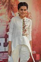 Taapsee Pannu Looks Super Cute in White Kurti and Trouser 23.JPG