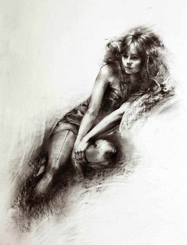 Lovely Pencil Drawings by Ivan Alifan