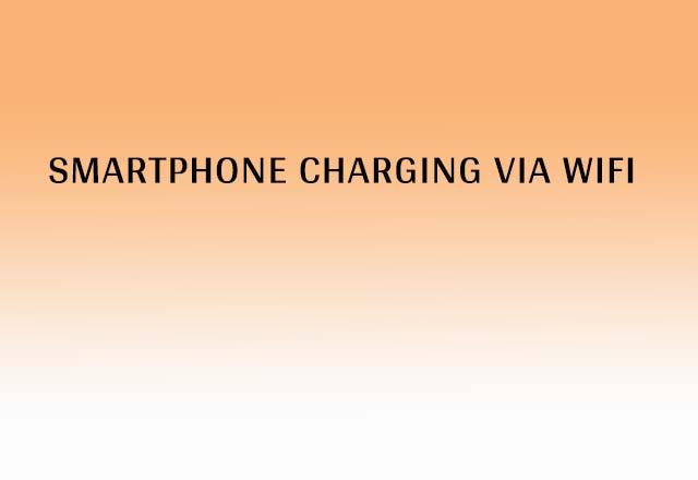 Smartphone Charging Via WiFi