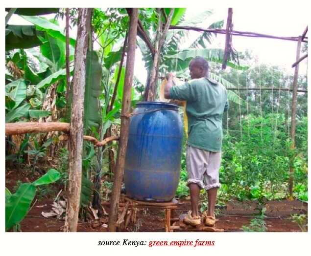 Water Tank Irrigation System : Gravity drip bucket irrigation systems big picture
